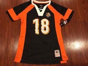 Majestic Women's AJ Green Cincinnati Bengals Draft Him NFL Jersey Small S