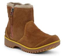 NEW SOREL Meadow Zip Waterproof Elk/Golden Yellow Suede Ankle Boots US 7.5/38.5