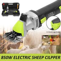 850W Electric Wool Shearing Sheep Goats Clipper Farm  Animal Trimmer 220V