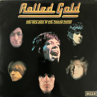 ROLLING STONES ROLLED GOLD 2-LP DECCA UK RARER LATER PRESS BLACK LABELS PROCLEAN