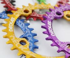 DECKAS Bike BCD 104mm Narrow Wide Oval Round Chainring 32 34 36 38T Chain Ring