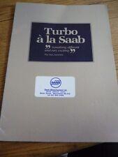 SAAB 900 Turbo SALES BROCHURE 1980