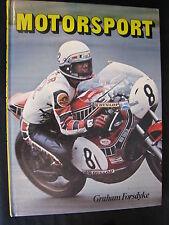 Market Books Motorsport, Graham Forsdyke (Nederlands) (TTC)
