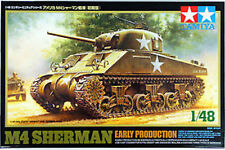 US M4 Sherman Early Production 1/48 Scale Tamiya Kit 32505 New!