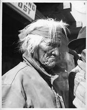 Willis Rue Western Photo Portrait Native American Elder at Trading Post