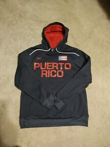 Puerto Rico Size Small Men's Hoodie A58