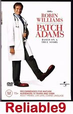 Robin Williams - Patch Adam Based on a true story DVD+Special features Reg4 AUS