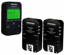 Yongnuo YN-622N-TX Wireless Flash Transmitter & 2PC YN-622N Trigger for Nikon US