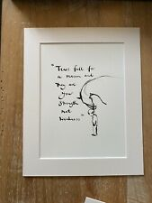Charlie Mackesy Mounted book extract from The Boy, The Fox ..and The Horse