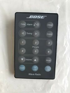 Genuine Bose-Wave RADIO Remote Control (NEW) (BLACK)
