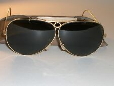 44e1260f5c3 CIRCA 1960 s 5mm VINTAGE B L RAY-BAN USA ARISTA G15 SHOOTING AVIATOR  SUNGLASSES