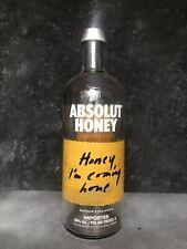Absolut Honey Vodka Limited Edition 1L Empty Bottle