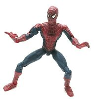 "Spider-Man Movie 6"" Super Poseable (Loose Action Figure) Toybiz (2002)"
