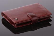 Mens Genuine Leather Brown Braun Buffel Big vertical Wallet