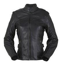 Blousons noirs Furygan pour motocyclette femme