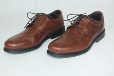 Men's Rockport Charles Road Apron Toe Brown Oxford V82592 9.5M 9.5 M Shoes