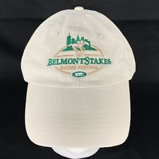 Belmont Stakes 2015 Cap Hat Adjustable Khaki Horse Racing NYC 100% Cotton