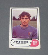 A & BC GUM CARD FOOTBALL ENGLAND 1969 JOHN O'ROURKE IPSWICH TOWN TRACTOR BOYS