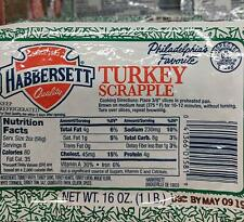 Habbersett Turkey Scrapple 1 Lb (6 Pack)
