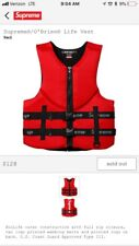 Supreme OBrien Life Vest Life Jacket Size Small Authentic Confirmed