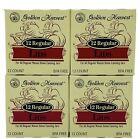 Golden Harvest ~ Canning Lids Fits Regular Mouth Size Metal BPA Free ~ 48-Pack