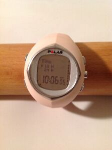 Polar F6 fitness and Heart Rate Monitor Watch Data Without Chest belt Pink Pre-O
