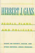 People, Plans, and Policies: Essays on Poverty, Racism, and Other National Ur...