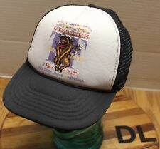 "ROCK CREEK LODGE MONTANA ROCKY MOUNTAIN OYSTERS ""I HAD A BALL"" HAT VGC DL"