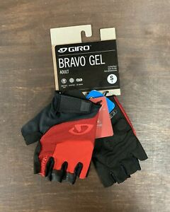 Giro Bravo Gel Cycling Gloves Size Small Red New