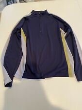 Gap Men's 1/4 Zip Quarter Zip Athletic Pullover - Large