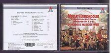 MOZART CD SYMPHONY 27 & 5/ NIKOLAUS HARNONCOURT/ CONCENTUS MUSICUS WIEN