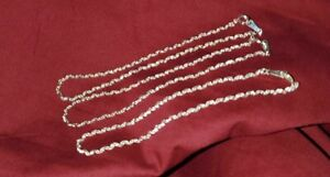 Designer style Silver Tone Chain Anklets Lot of 3 NEW m3