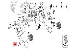 Genuine BMW E60 E60N E61 E61N E63 Clutch Pedal Stop Buffer OEM 35306759939