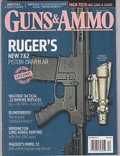 Guns & Ammo Magazine Dec 2013, Ruger's new 7.62 Piston-Driven AR.