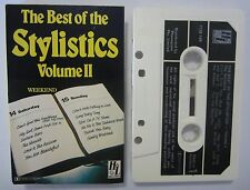 THE STYLISTICS THE BEST OF THE STYLISTICS AUSTRALIAN RELEASE CASSETTE TAPE