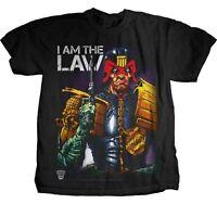 JUDGE DREDD I Am The Law T SHIRT S-M-L-XL-2XL New Official Hi Fidelity Merch