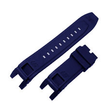 New Rubber Blue Watch Band Strap For Invicta S1 Rally 10564