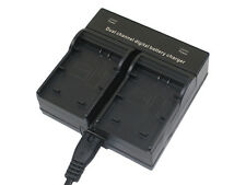 Dual Battery Charger for DMW-BMB9e DMW-BMB9 DMC-FZ100 DMC-FZ40 DMC-FZ45 DMC-FZ48