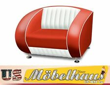 SF-01-CB Bel Air Fifties Style Designer Sofa Wohnzimmer Sessel Retro 50er Jahre
