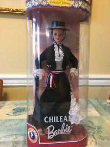 1997 Chilean Barbie - Mattel Dolls of the World Barbie Collection - NIB