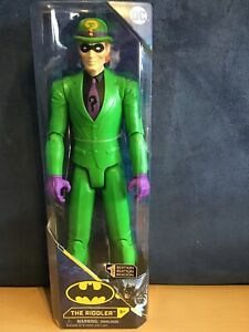"DC COMICS FIRST EDITION 12"" FIGURE THE RIDDLER BY SPIN MASTER BNIB"