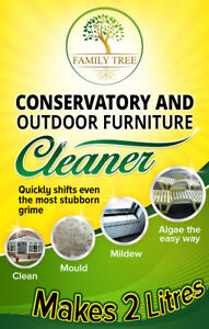 Conservatory And Outdoor Furniture Cleaner - Clean Mould Mildew Algae Plastic