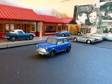 Corgi Jouets 204 Morris Mini Minor bleu moyen