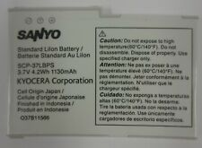 New Sanyo and Kyocera Scp-37Lbps Battery for Zio 8600 M6000 36Lbs