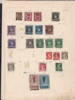 belgium  stamps page ref 18067