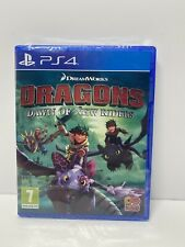 Dreamworks Dragons Dawn Of New Riders- PS4 - Brand New Factory Sealed -1st Class