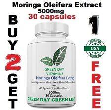 Moringa Oleifera Extract 5000mg  Anti Aging Herb