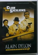 DVD LE CLAN DES SICILIENS - ALAIN DELON / JEAN GABIN / LINA VENTURA - 1965