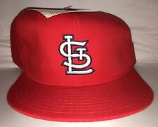Vtg St. Louis Cardinals Fitted Hat NEW ERA deadstock size 7 3/4 90s NWT pujols