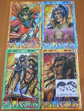 LOT 4 MANGAS JAPONAIS SAKON Tome 1 à 4 - VO JAPAN - JC JUMP COMICS